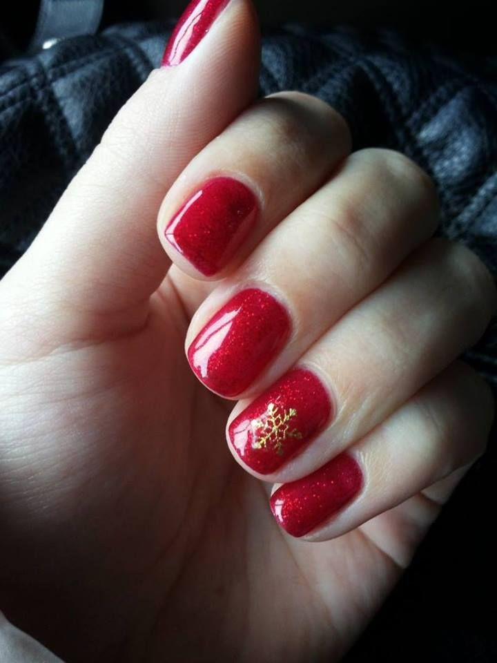 25 Best Ideas About Red Christmas Nails On Pinterest