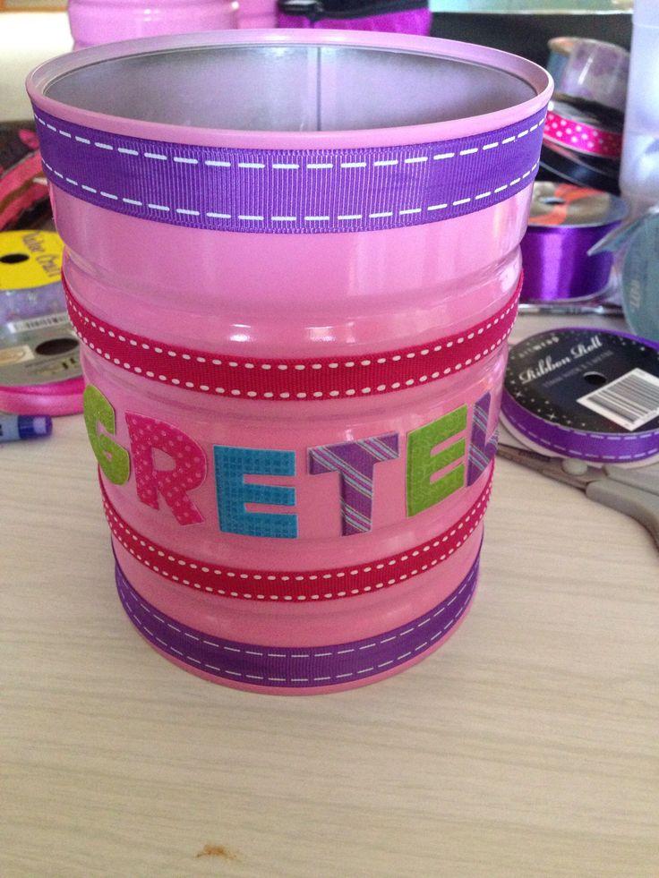 Formula tin storage :-)