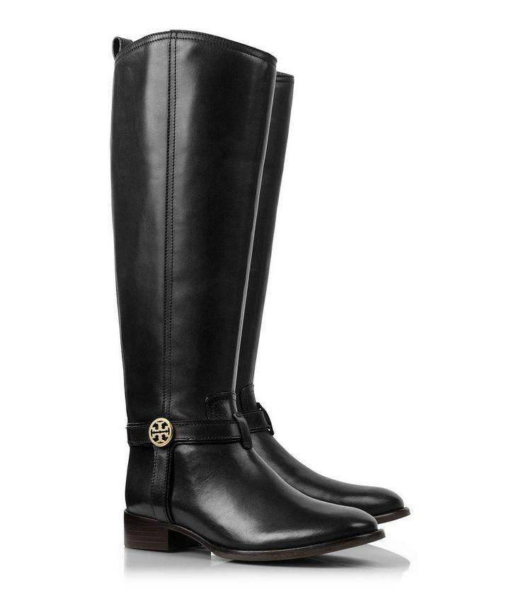 Black Tory Burch Boots.