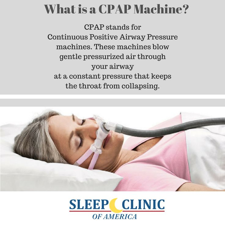 CPAP stands ffor continuous positive airway pressure machine. These machines blow gentle pressurized air through your airway at a constant pressure that keeps the throat from collapsing. If you suffer from sleep apnea, you may need a CPAP machine, contact Sleep Clinic of America.   #sleep #health #snoring #risk #cpap #insomnia #osa #patients #healthcare #citruscounty #lecanto #florida #sleepstudy #nosleep #sleepcenter #sleepclinic #physician