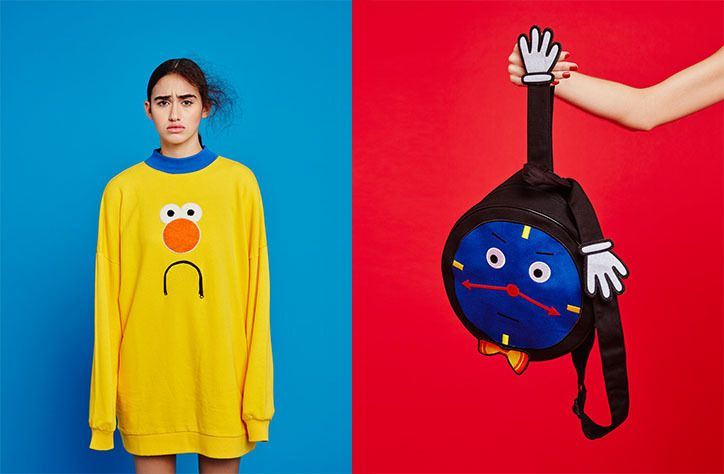 Lazy Oaf launches collaboration with Don't Hug Me I'm Scared.