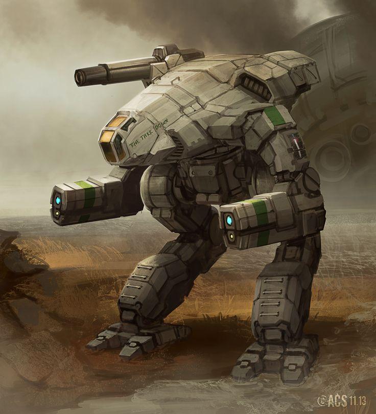 Battletech - MWO Marauder by Shimmering-Sword.deviantart.com on @deviantART
