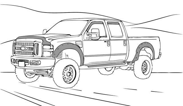 Silverado 1500 Chevy Truck Coloring Page Truck Coloring Pages Chevy Trucks Monster Truck Coloring Pages
