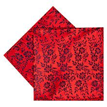 Buy Duchamp Duplicate Floral Silk Pocket Square Online at johnlewis.com