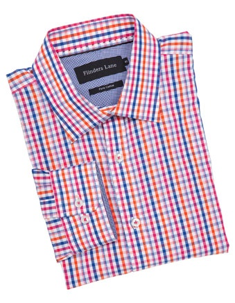 FLINDERS LANE check business shirt #cupday #myerspringfashion