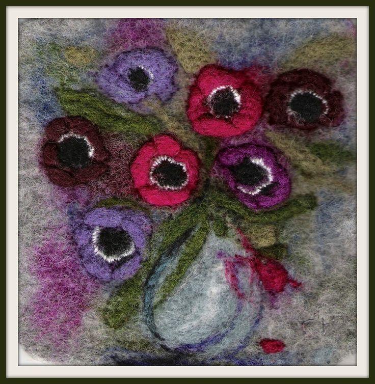 Un petit bouquet d'anémones