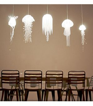 These jellyfish lamps made it straight to the top of my wish list