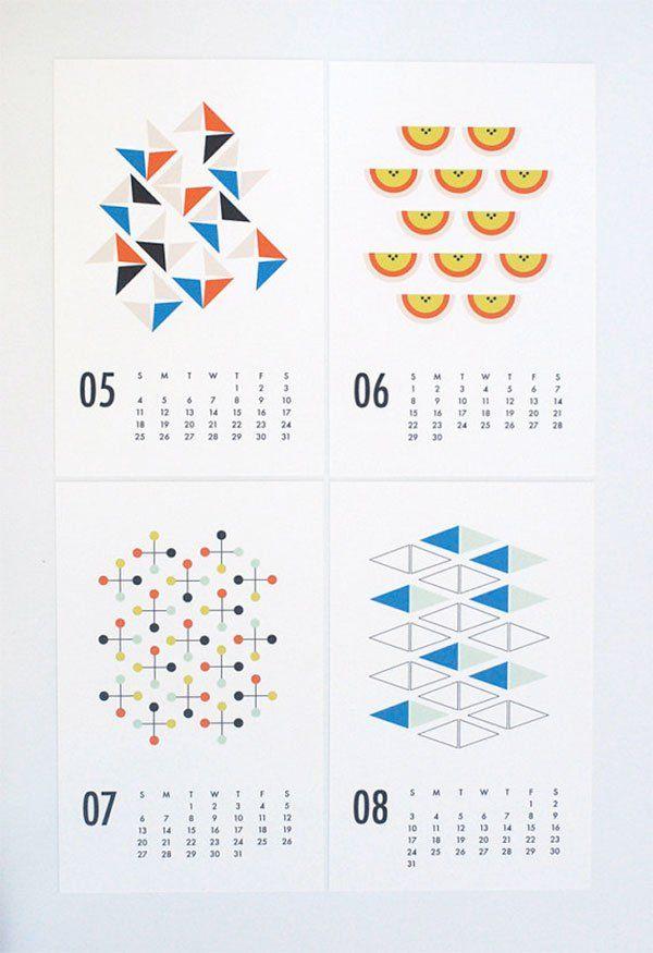 Les 30 meilleures images du tableau calendrier original - Calendrier design ...