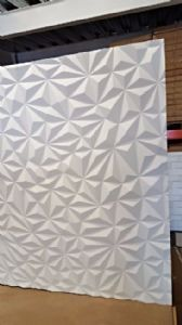 QUARTZ 3D WALL PANEL PRIMED & READY TO PAINT