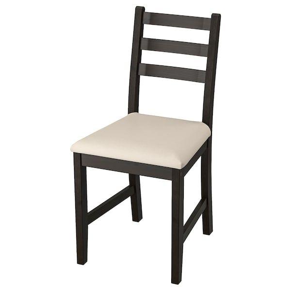 Lerhamn Chair Black Brown Vittaryd Beige Ikea Housse De Chaise Materiaux Naturels Ikea