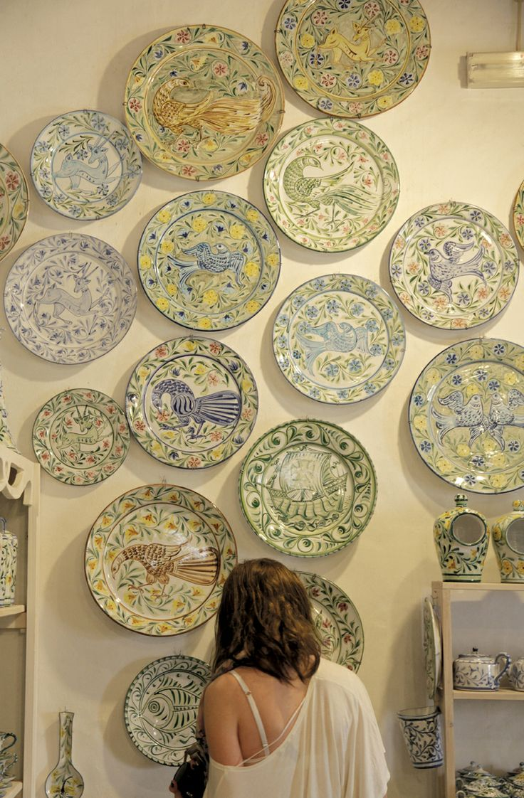 Porches Pottery is entirely hand-made in Portgal. Our pieces are all hand-glazed and hand-painted by our artisans in the traditional Majollica style that has been emblematic of Algarve for centuries. You can see more of our work at our website http://www.porchespottery.com/