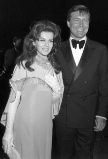 Ann-Margret and Roger Smith (from 77 Sunset Strip)...they were married in 1967