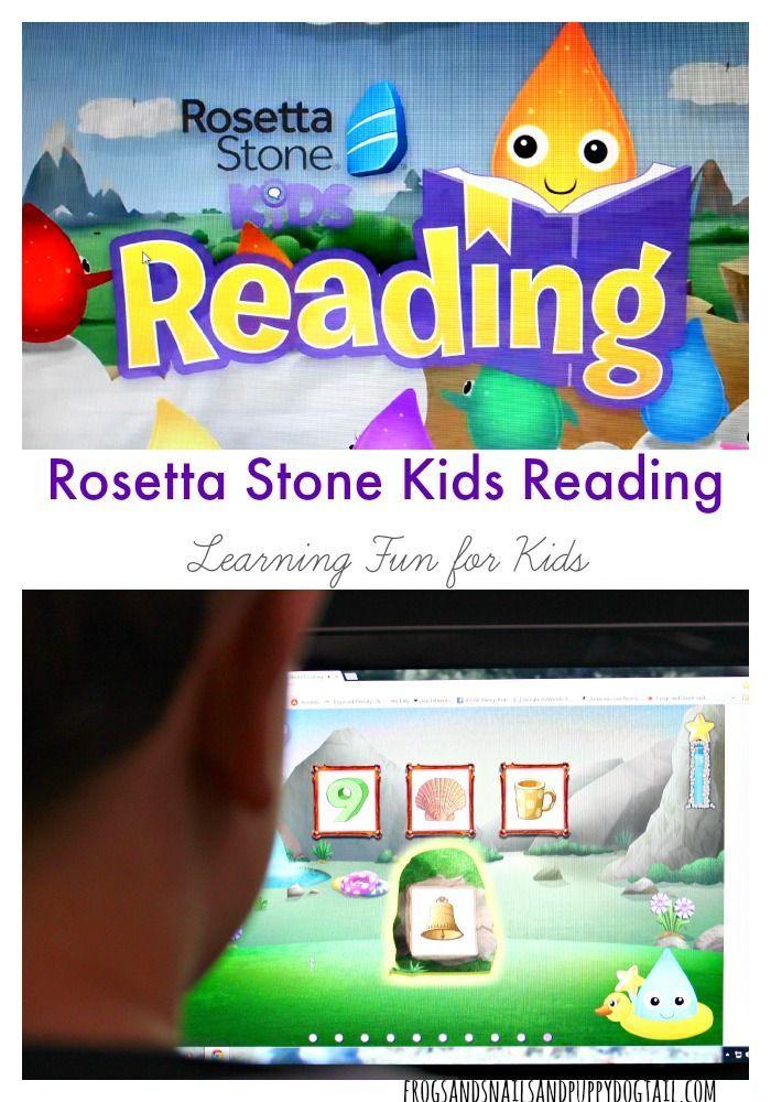 Rosetta Stone Kids Reading Activity on FSPDT #sponsored #mc