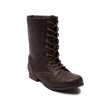 Shop for YouthTween Sarah-Jayne Camper Boot in Brown at Journeys Shoes. Shop today for the hottest brands in mens shoes and womens shoes at Journeys.com.Show off some of that edgy girl power attitude with the Camper boot from Sarah-Jayne--faux leather upper with detailed stitching including stitched toe. 9 eyelet lace-up for customization and originality.