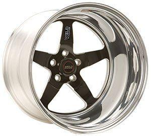 Weld Wheel 71HB7100N72A RT-S S71 17 x 10 5x120mm Aluminum Polished Black