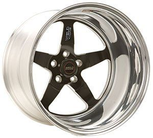 Weld Wheel 71HB7100N72A RT-S S71 17 x 10 5x120mm Aluminum Polished Black