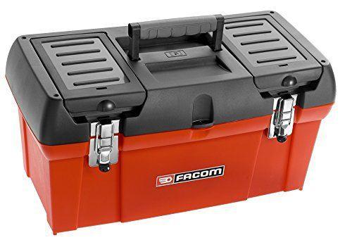 Facom BP.C19PG Tool Box Caisse à Outils: Price:28.99BOITE A OUTILS PLASTIQUE 19 » – 2 compartiments de rangement sur le couvercle –…