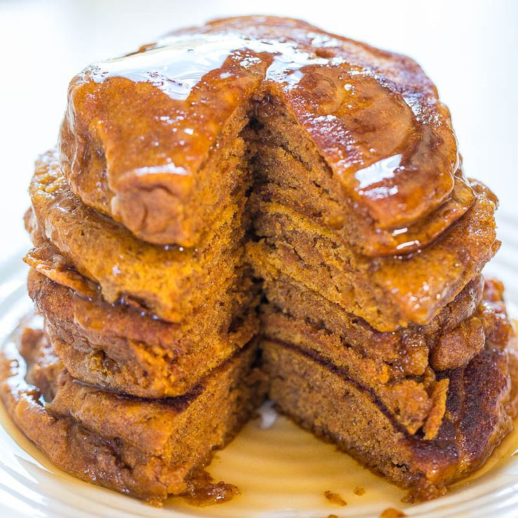 I've made so many pumpkin recipes over the years between my blog and Cooking With Pumpkin. But I've never shared a recipe for pumpkin pancakes on my blog. Time to change that. The pancakes are soft, fluffy, and are packed with pumpkin and the flavors of fall. They're pleasantly spiced with cinnamon, pumpkin pie spice, …
