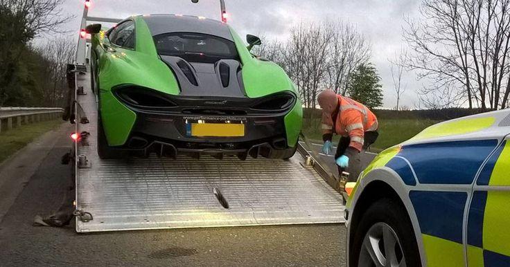 "UK Police Impound 3 Supercars Over ""Anti-Social Driving"" #Ferrari #Ferrari_458"