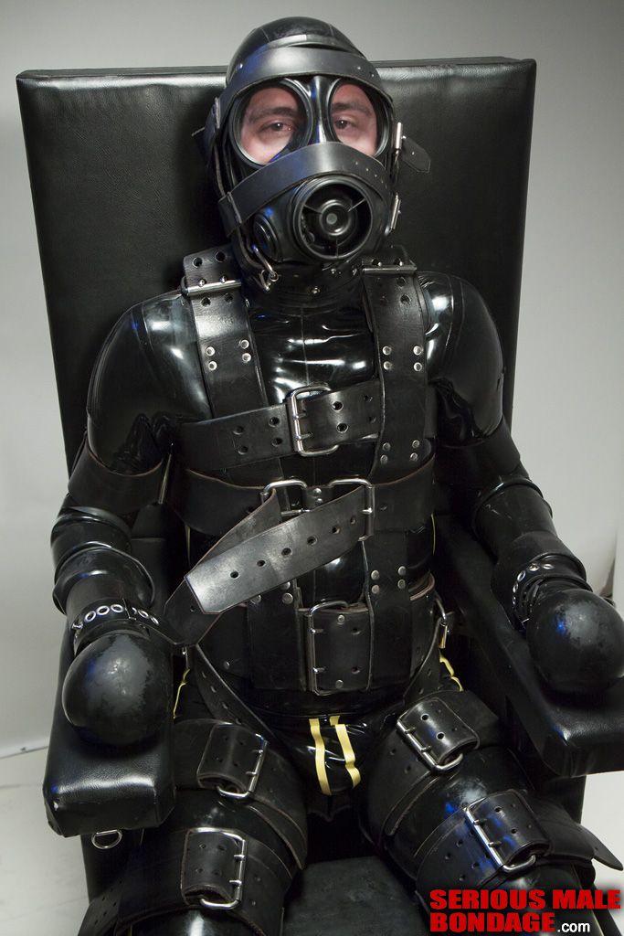 Gas mask bondage
