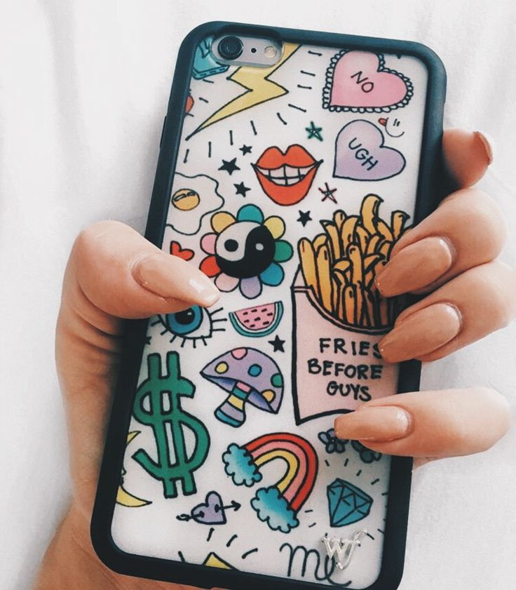 I'm obsessed with wildflower phone cases