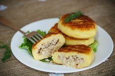 Картофельные зразы с мясным фаршем, пошаговый рецепт с фото