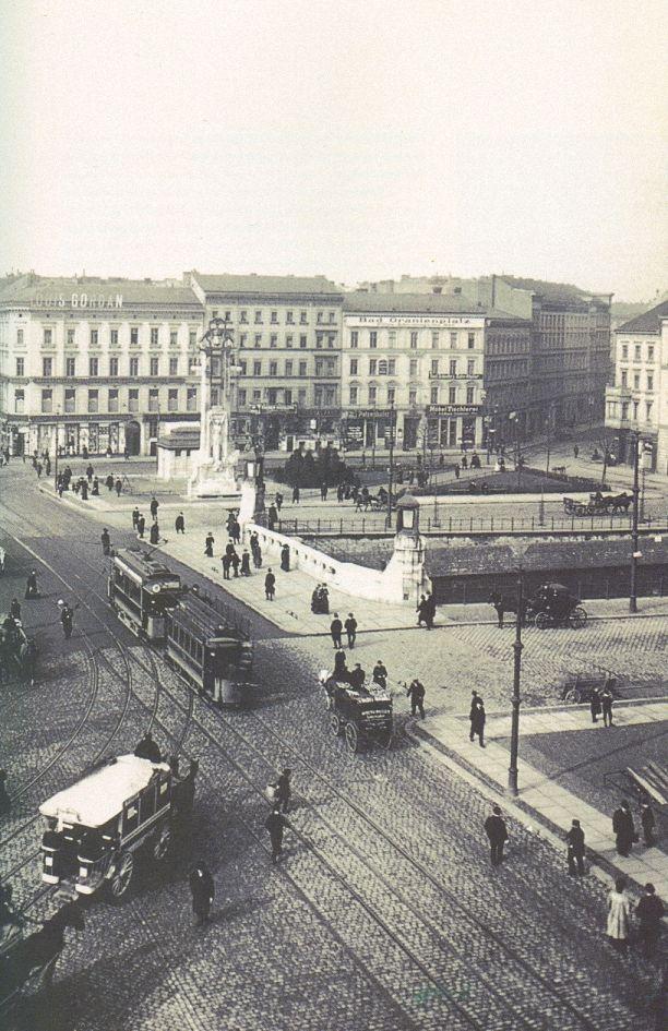 Berlin, Oranienplatz II , um 1900.