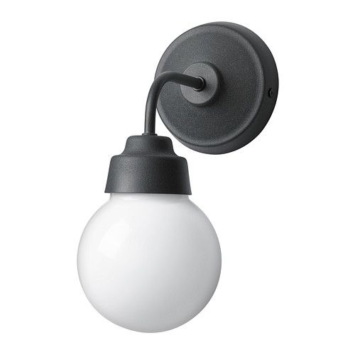 155 best wall sconces images on pinterest applique bright walls bathroom ikea vitemlla wall lamp gives a diffused light which is good for spreading light into larger areas of a bathroom mozeypictures Gallery