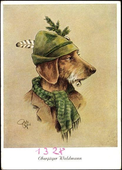 142 besten dogs bilder auf pinterest hunde hundekunst und vintage hund - Vintage bilder kostenlos ...