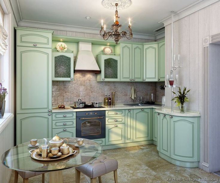 Kitchen Idea Of The Day Green Kitchens