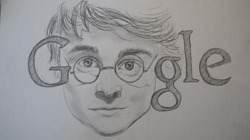 Google Doodle for July 31st...which just so happens to be Harry Potter's AND JK Rowling's bday. oh yeah.