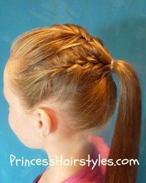Nastia Liukin gymnastics hairstyle