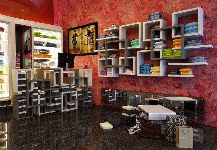 Design shelves. Boutique furniture from Novo Quadratum.