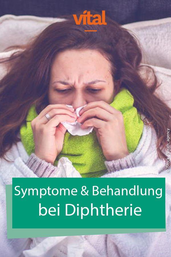 Diphtherie Symptome Verlauf Behandlung Erkrankungen