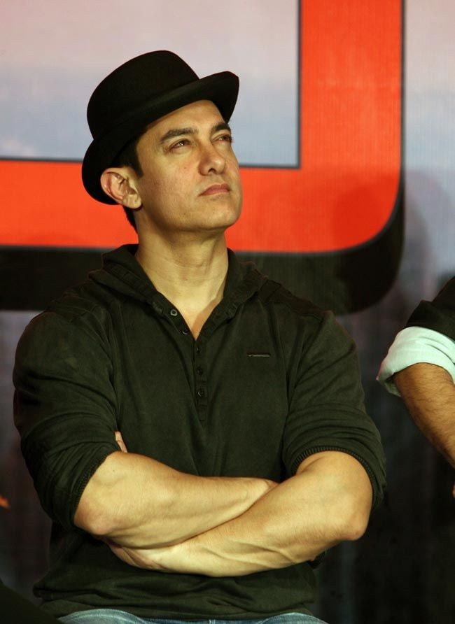 Aamir Khan promoted 'Dhoom 3'. #Fashion #Style #Bollywood #Handsome