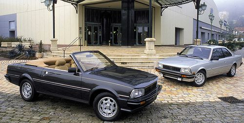 Peugeot 505 Coupe and Convertible