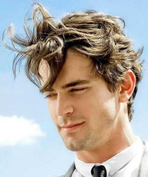 17 best images about matt bomer on pinterest grey white - Neal caffrey hair ...