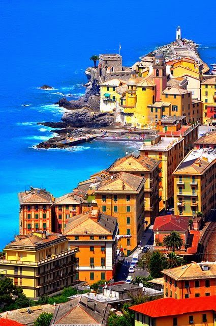 Camogli, Italian Riviera, province of Genoa, Italy
