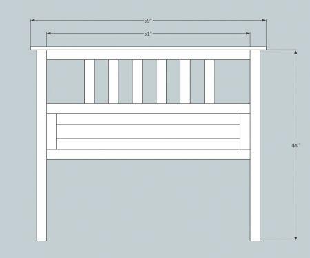 standard king size headboard measurements  headboard designs, Headboard designs