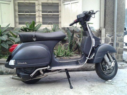 vespa spartan custom px200 p200ex