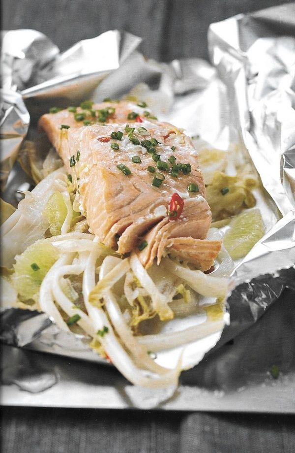 Je vous propose de découvrir et d'essayer cette recette. Une cuisson à la vapeur avec le saumon et ses ingrédients en font un bon mariage pour vos papilles. Un plat à déguster en famille ou entre amis ! Recette au saumon endives et citron vert Ingrédients...