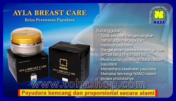 brosur ayla breast care nasa