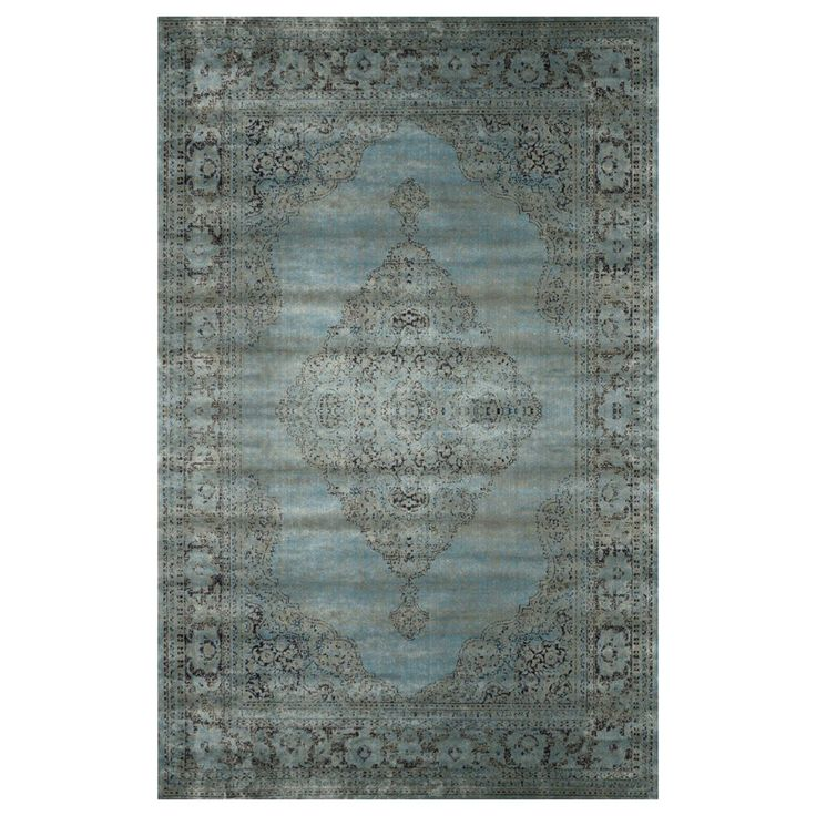 Shop nuLOOM  CFVI03A Velu Marine Medallion Mable Area Rug at Lowe's Canada. Find our selection of area rugs at the lowest price guaranteed with price match + 10% off.