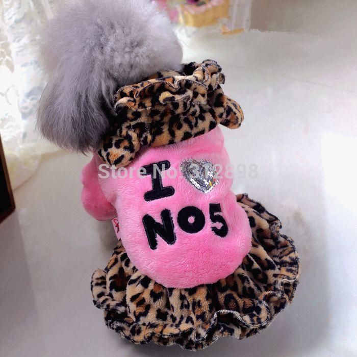 Мягкая фланелевая одежда для кошек и собак розового, красного и желтого цветов РТ032 зимняя теплая одежда платье для чихуахуа йоркширского терьера платье для питомцев