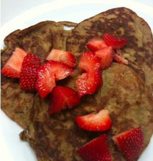 Fast Paleo » Quick Paleo Pancakes - Paleo Recipe Sharing Site: Banana Pancakes, Paleo Breakfast, Paleo Diet, Healthy Food, Paleo Recipes, Fastpaleo Primal, Paleo Pancakes