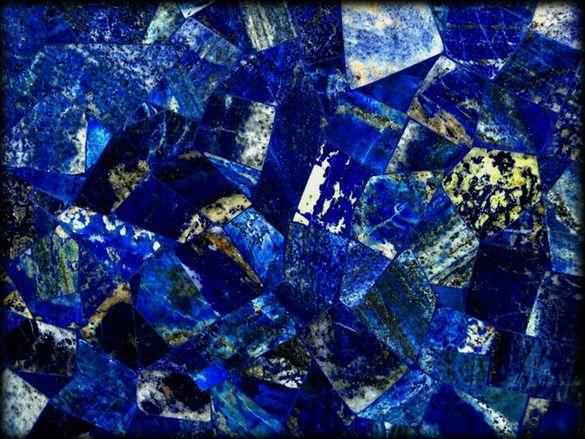 Jaccana | Lapiz Lazuli Classico Tiles | Semiprecious Tile & Slabs
