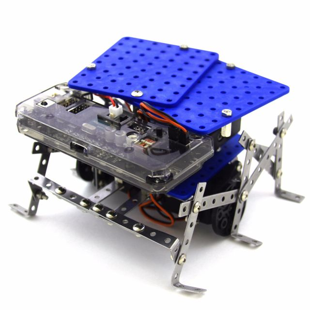 Rokit Smart, the original programmable robot kit! Rokit Smart is perfect for those who want to start learning code with 11 different bots from a single kit.