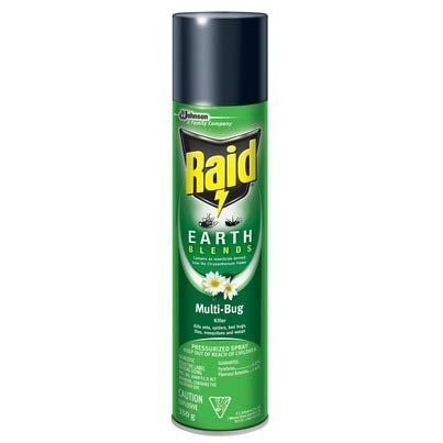 Raid Earth Blends Multi-Bug Killer - Insect & Pest Control