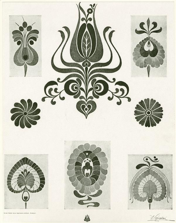 Hungarian designs at NYPL