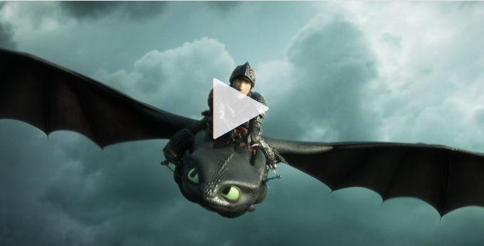 Как приручить дракона 3 - фильм 2019 в хорошем hd 720 ...